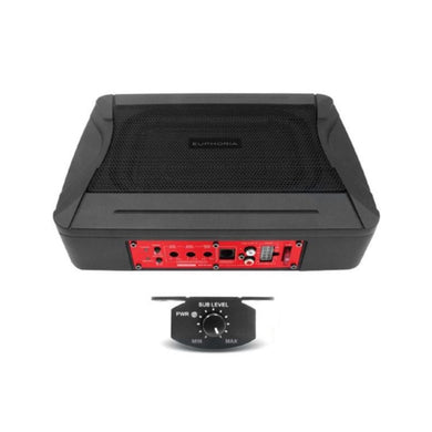 DB Drive Euphoria EPS68 Compact Powered 100W Subwoofer - Overdrive Auto Tuning, Car Audio auto parts