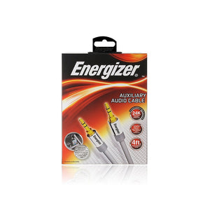 Energizer 4' Auxiliary Audio Cable - Overdrive Auto Tuning, Car Audio auto parts