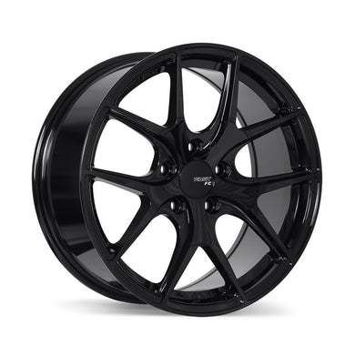 Fast FC04 Metallic Black Wheels - Overdrive Auto Tuning, Wheels auto parts