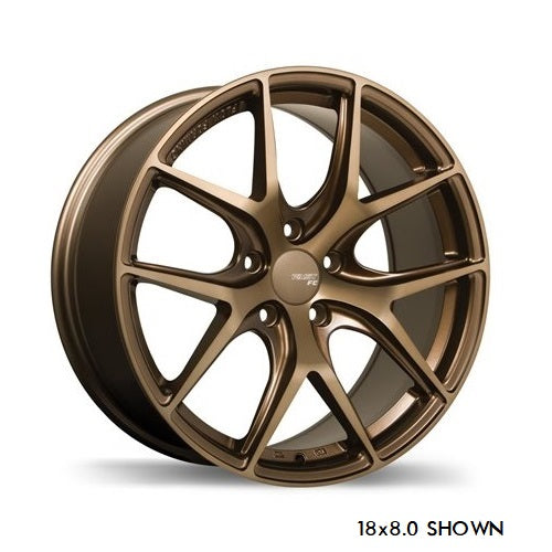 Fast FC04 Matte Bronze Wheels - Overdrive Auto Tuning, Wheels auto parts