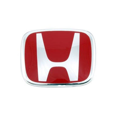 JDM Honda Emblem Red H Badge - Overdrive Auto Tuning, Exterior Accessories auto parts