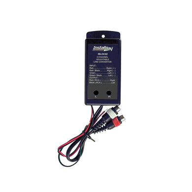 Install Bay 2-Channel 80W Adjustable Line Level Converter - Overdrive Auto Tuning, Car Audio auto parts