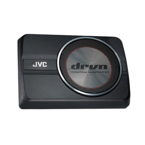 JVC CW-DRA8 Compact Powered 150W Subwoofer - Overdrive Auto Tuning, Car Audio auto parts