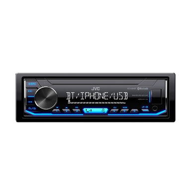 JVC KD-X255BT Bluetooth Media Receiver - Overdrive Auto Tuning, Car Audio auto parts