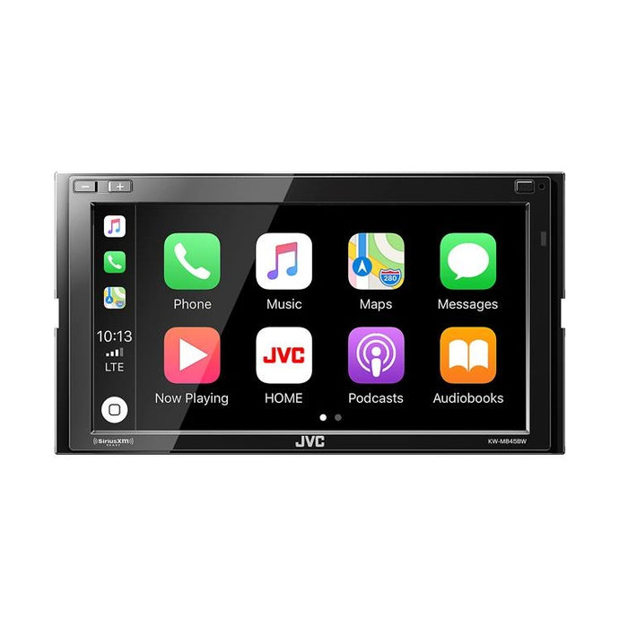 JVC KW-M845BW Receiver with CarPlay and Wireless Android Auto - Overdrive Auto Tuning, Car Audio auto parts