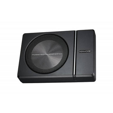Kenwood KSC-PSW8 Compact Powered 150W Subwoofer - Overdrive Auto Tuning, Car Audio auto parts
