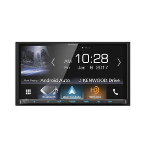Kenwood DMX7705S Receiver with Android Auto, CarPlay, & GPS - Overdrive Auto Tuning, Car Audio auto parts