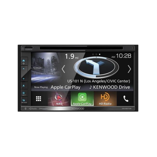 Kenwood DNX576S DVD/Navigation Receiver (Android/CarPlay) - Overdrive Auto Tuning, Car Audio auto parts