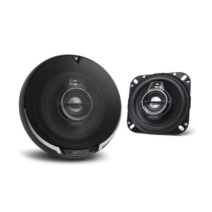 "Kenwood KFC-1095PS 4"" 3-Way Coaxial Speakers - Overdrive Auto Tuning, Car Audio auto parts"