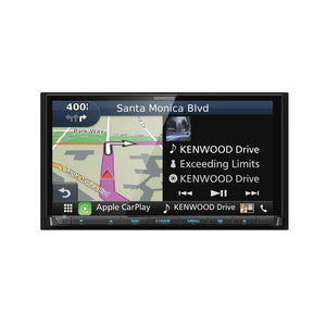 Kenwood DNX874S DVD/Navigation Receiver with Android Auto & CarPlay - Overdrive Auto Tuning, Car Audio auto parts