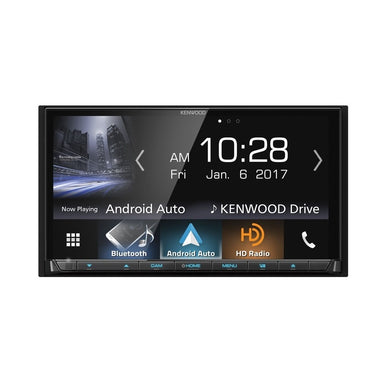 Kenwood DDX9704S DVD Receiver with Android Auto, Carplay, & GPS - Overdrive Auto Tuning, Car Audio auto parts