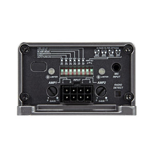 Kicker Key Smart 45W 4-Channel Amplifier - Overdrive Auto Tuning, Car Audio auto parts