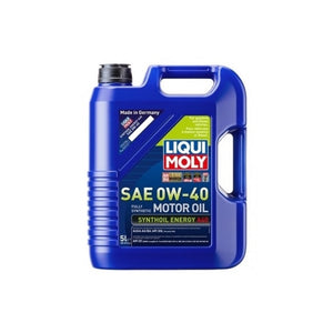 Liqui Moly Synthoil Energy A40 0W-40 Fully Synthetic Motor Oil - Overdrive Auto Tuning, Lubricants and Additives auto parts