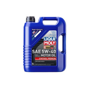 Liqui Moly Synthoil Premium Fully Synthetic 5W-40 Motor Oil - Overdrive Auto Tuning, Lubricants and Additives auto parts
