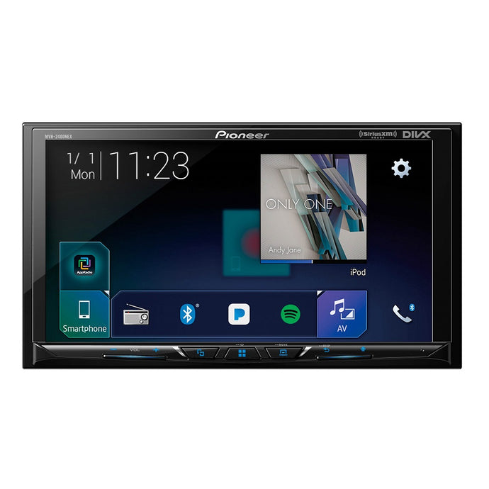 Pioneer MVH-2400NEX Android Auto & Apple Carplay Receiver - Overdrive Auto Tuning, Car Audio auto parts