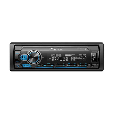 Pioneer MVH-S312BT Mechless Single Din Receiver - Overdrive Auto Tuning, Car Audio auto parts