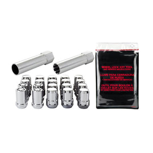 McGard Spline Drive Locking Lug Nut Kit Chrome - Overdrive Auto Tuning, Wheel Accessories auto parts