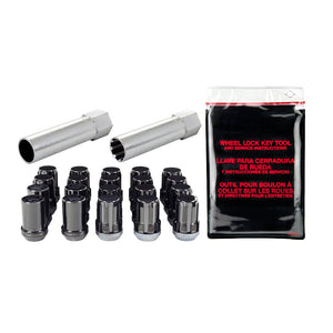 McGard Spline Drive Locking Lug Nut Kit Black - Overdrive Auto Tuning, Wheel Accessories auto parts