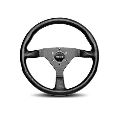 MOMO Monte Carlo 320mm Black Leather Steering Wheel - Overdrive Auto Tuning, Steering Wheels auto parts