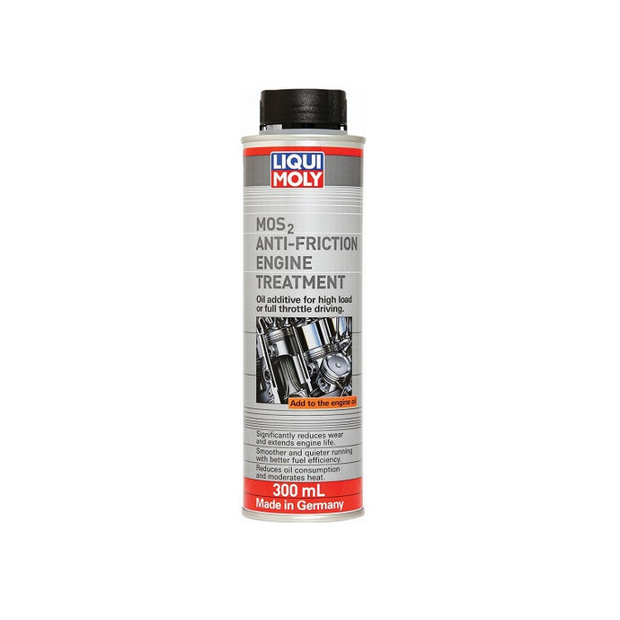 Liqui Moly MOS2 Anti-Friction Engine Treatment LM2009 - Overdrive Auto Tuning, Lubricants and Additives auto parts