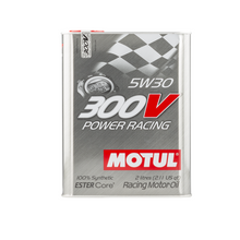Motul 300V 5W30 Power Racing Motor Oil - Overdrive Auto Tuning, Lubricants and Additives auto parts