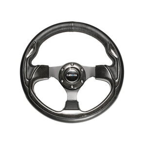 NRG ST-001-RCF Carbon Fiber Steering Wheel - Overdrive Auto Tuning, Steering Wheels auto parts