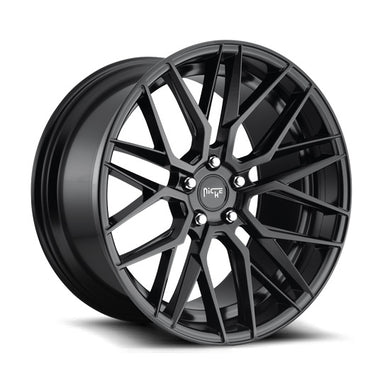 Niche Gamma Matte Black Wheel (20