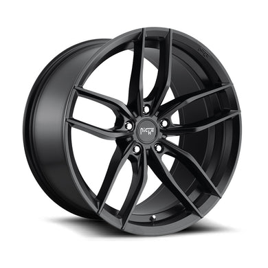 Niche Vosso Satin Black Wheel (18/19/20/22