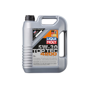 Liqui Moly Top Tec 4200 5W-30 Fully Synthetic Motor Oil - Overdrive Auto Tuning, Lubricants and Additives auto parts