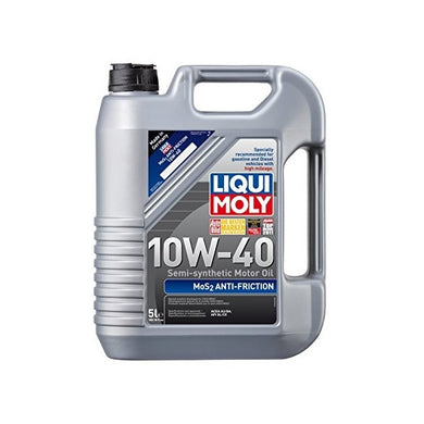 Liqui Moly MOS2 Leichtlauf Anti-Friction 10W-40 Motor Oil - Overdrive Auto Tuning, Lubricants and Additives auto parts
