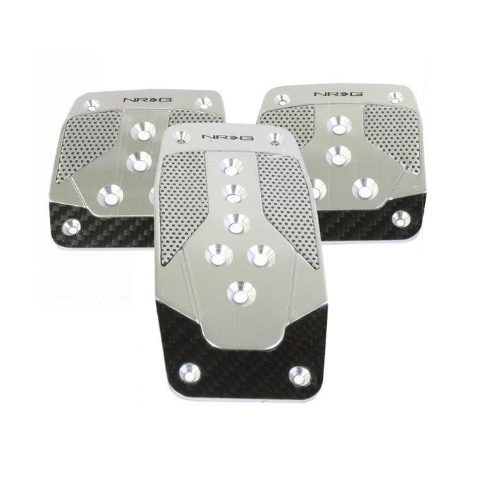 NRG PDL-400SL Brushed Aluminum Sport Pedals - Overdrive Auto Tuning, Pedals auto parts