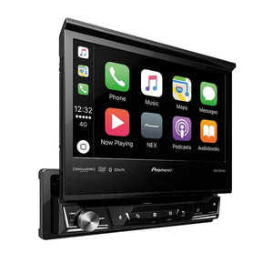 Pioneer AVH-3400NEX Flip-Out Carplay/Android Receiver - Overdrive Auto Tuning, Car Audio auto parts
