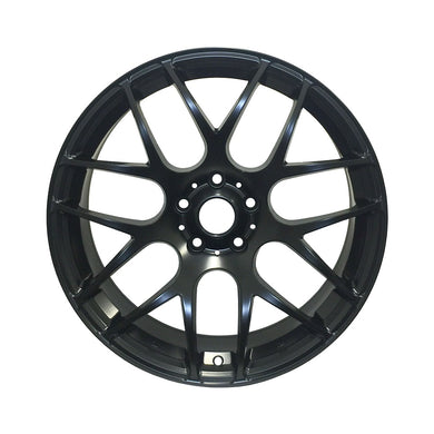 RAC R01B Matte Black Wheels