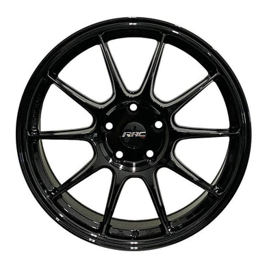 RAC R08GB Gloss Black Wheels