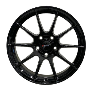 RAC R10GB Gloss Black Wheels