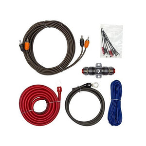 Raptor 300W 8 Gauge Vice Series Amp Wiring Kit - Overdrive Auto Tuning, Car Audio auto parts