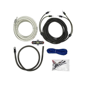 Raptor 1500W 4 Gauge Pro Series Amp Wiring Kit - Overdrive Auto Tuning, Car Audio auto parts