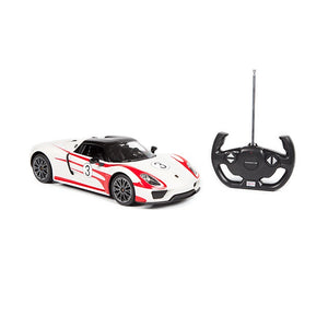 RASTAR Porsche 918 Spyder Weissach 1:14 RC Model Car - Overdrive Auto Tuning, Model Cars auto parts