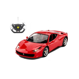 RASTAR Ferrari 458 1:18 RC Model Car - Overdrive Auto Tuning, Model Cars auto parts