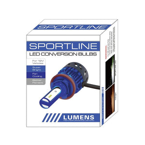 Lumens SPORTLINE LED Headlight Bulbs (Single Beam) - Overdrive Auto Tuning, Lighting auto parts