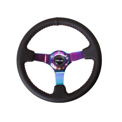 NRG ST-036MC Deep Dish Steering Wheel - Overdrive Auto Tuning, Steering Wheels auto parts