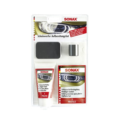 SONAX Headlight Restoration Kit - Overdrive Auto Tuning, Detailing Products auto parts
