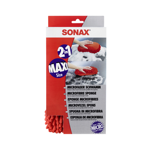 SONAX Microfibre Car Wash Sponge - Overdrive Auto Tuning, Detailing Products auto parts