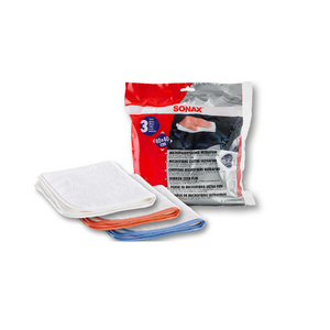 SONAX Microfibre Cloths Ultrafine - Overdrive Auto Tuning, Detailing Products auto parts