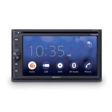 Sony XAV-AX200 Android Auto & CarPlay DVD Receiver - Overdrive Auto Tuning, Car Audio auto parts
