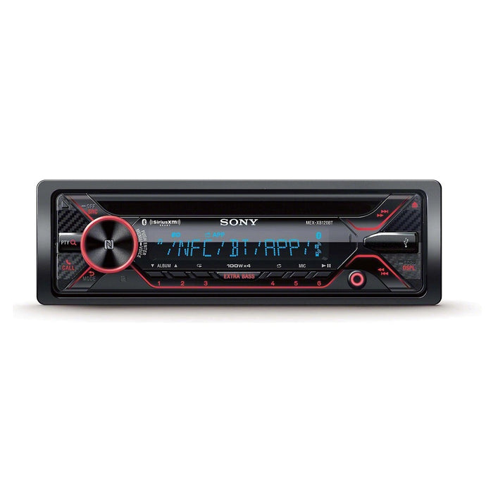 Sony MEX-XB120BT High Power Single Din CD Receiver - Overdrive Auto Tuning, Car Audio auto parts