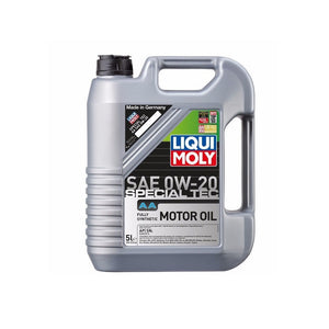 Liqui Moly Special Tec AA 0W-20 Fully Synthetic Motor Oil - Overdrive Auto Tuning, Lubricants and Additives auto parts