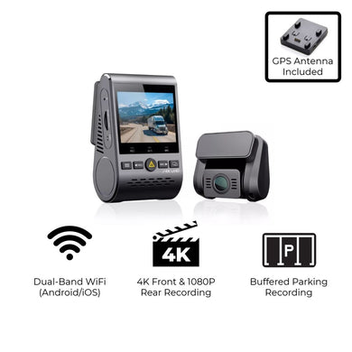 VIOFO A129 Pro Duo 4K/FHD 2-Channel Dash Cam