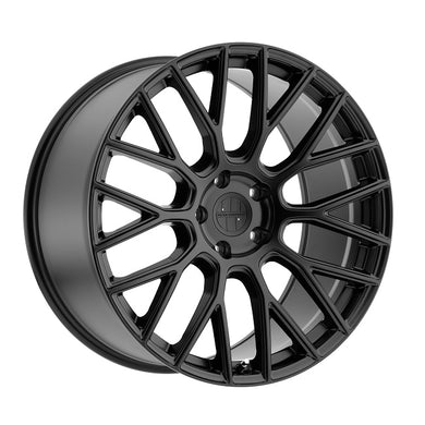 Victor Stabil Matte Black Wheels for Porsche (18/19/20/21/22