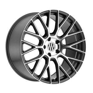 "Victor Stabil Gunmetal Machined Wheels for Porsche (18/19/20/21/22"")"